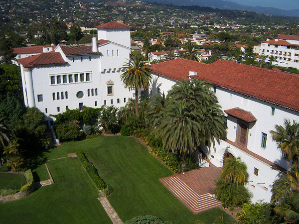 West Wing of Santa Barbara Courthouse