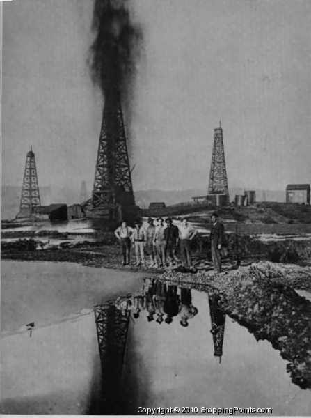 lakeview oil well gusher lakeview oil well gusher photoOil Well Gusher
