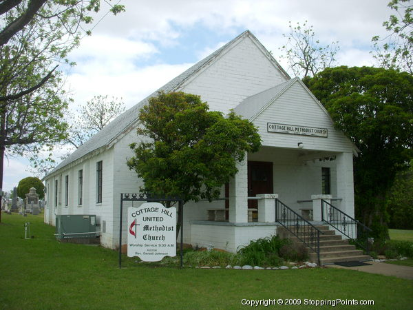 Cottage Hill Methodist Church in Texas