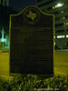 Second Travis County Courthouse Historical Marker