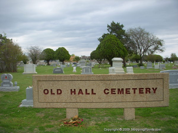 Old Hall Cemetery, Lewisville