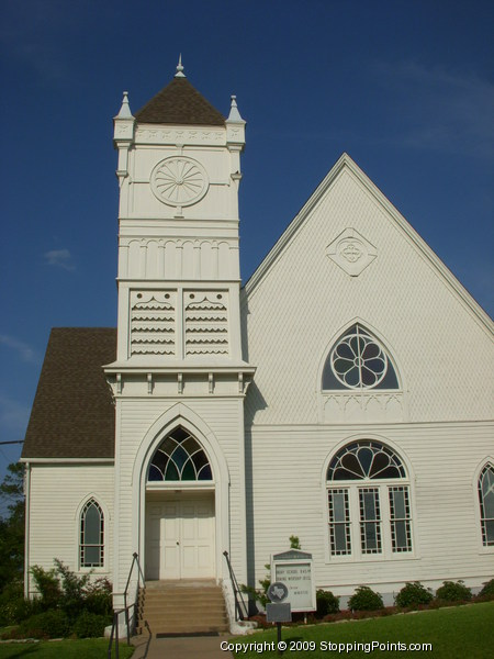 First Christian Church, Brenham, Tx