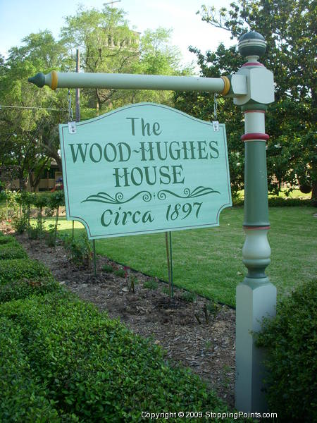 Wood-Hughes Home Sign