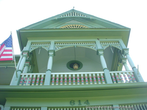 Front Porch, Wood Hughes House