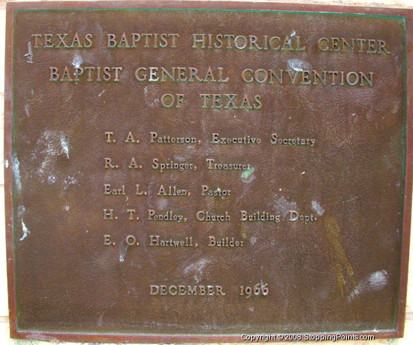 Texas Baptist Historical Center
