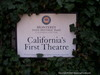 California' First Theater Historical Marker