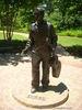 Statue of Elvis as a Boy