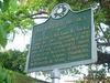 Old Natchez District Historical Marker for Warren