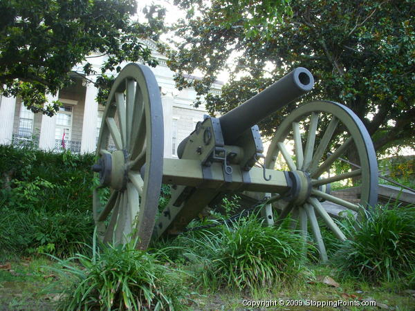 Civil War Cannon in Vicksburg