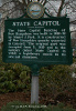 State Capital Historical Marker