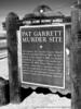 Pat Garrett Murder Site Historical Marker
