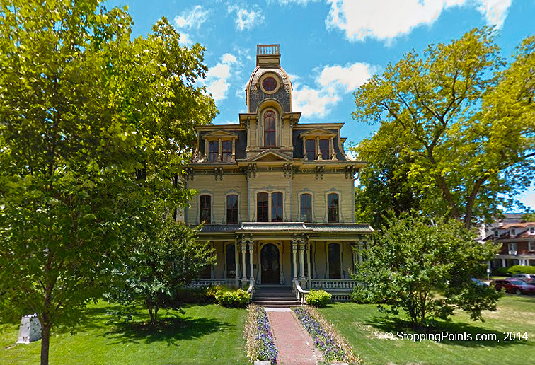 Heck-Andrews House Photo - StoppingPoints com