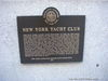 New York Yacht Club Landmark Sign