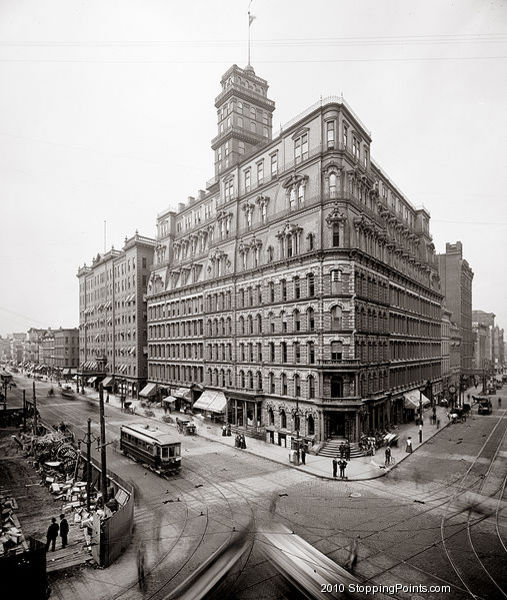 Powers Building Circa 1904