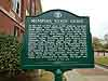 Memphis State Eight, Historical Marker (front)