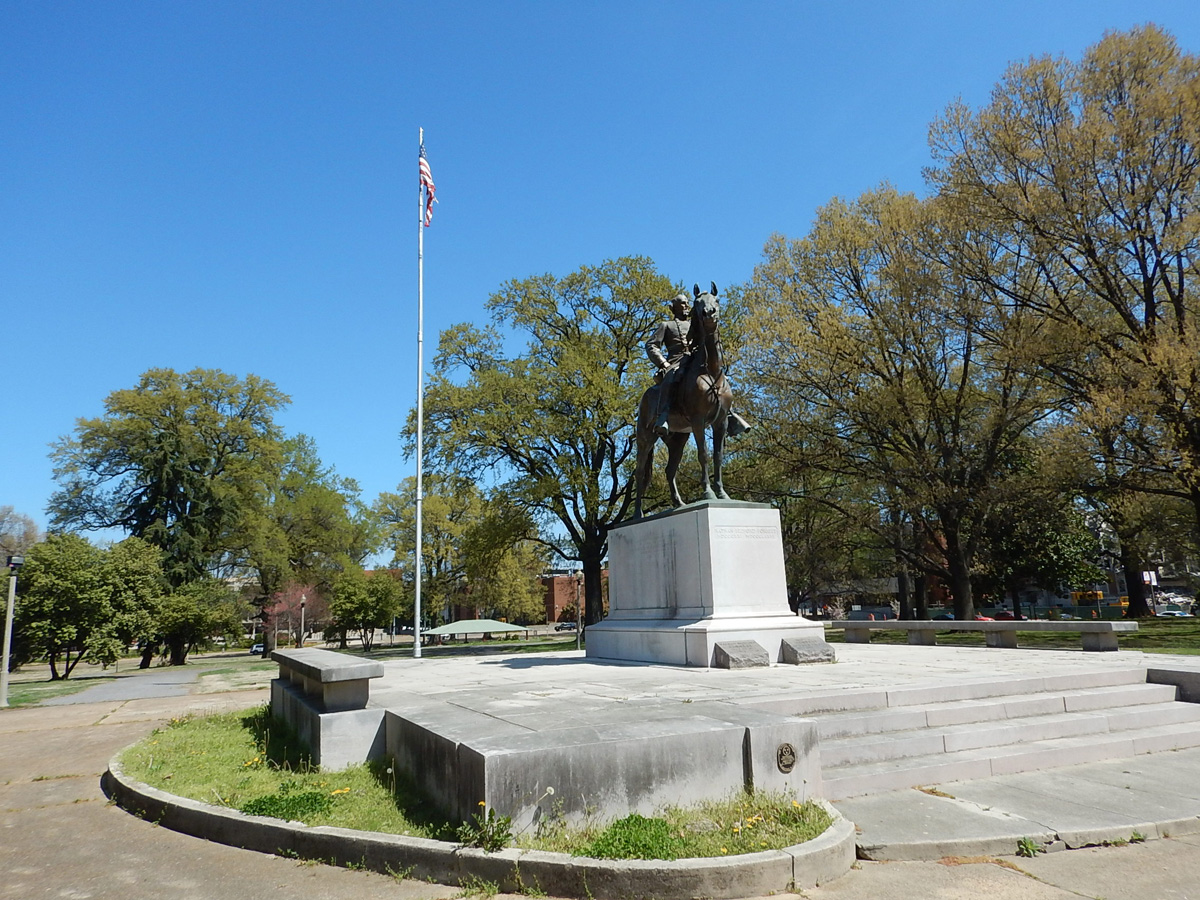 General Nathan Bedford Forrest, Confederate Memorial Statue