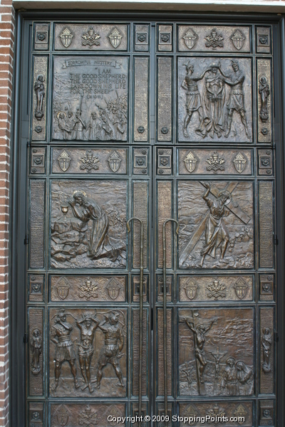 St. Anthony's - bronze doors