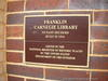 Franklin Carnegie Library National Register of Historic Places