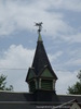 Weathervane Atop the Parish Carriage House