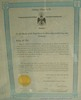 Scottish Rite Freemasonry Certificate