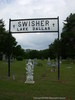 Swisher Cemetery Gate