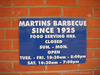 Martin's Barbeque Since 1925