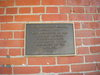 Southern Pacific Railroad Freight Depot NRHP Plaque