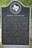 Gruene Cotton Gin Historic Marker