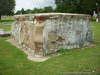 Large Brick and Cement Vault in Denton's IOOF Cemetery