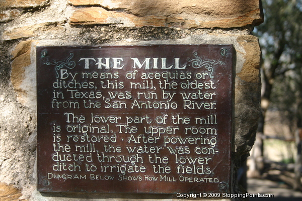 San Antonio River Mill