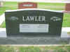 Cars on Lawler Gravestone, Lewisville