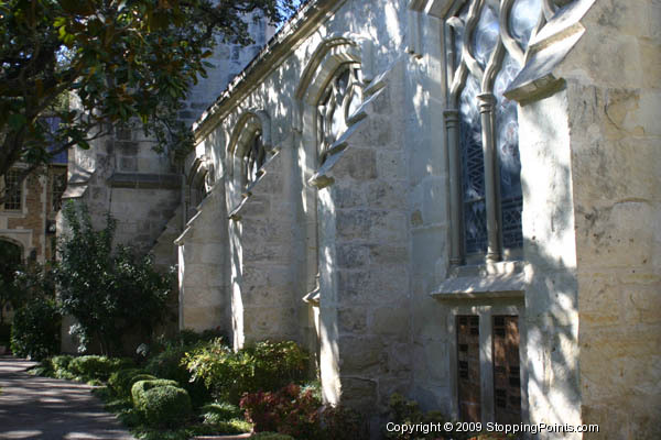 St. Mark's Episcopal Church flying buttresses