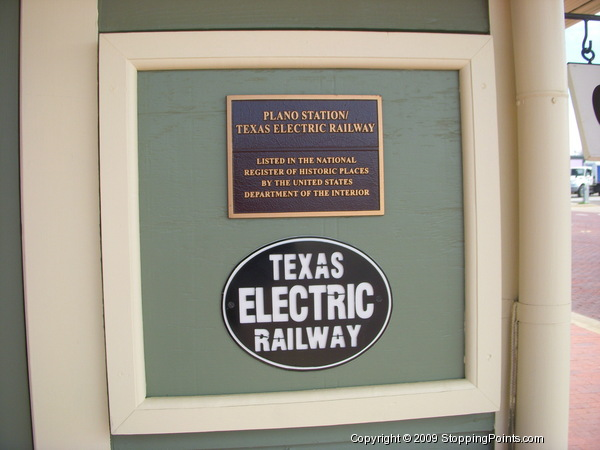 Texas Electric Railway Station National Register of Historic Places