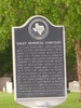 Haley Memorial Cemetery Historical Marker