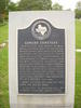 Sowers Cemetery Historical Marker
