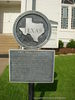 First Christian Church Brenham Historical Marker