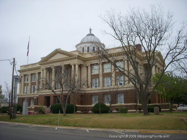 Courthouse in Anderson County